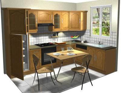 Cozinha - Imagem 3D